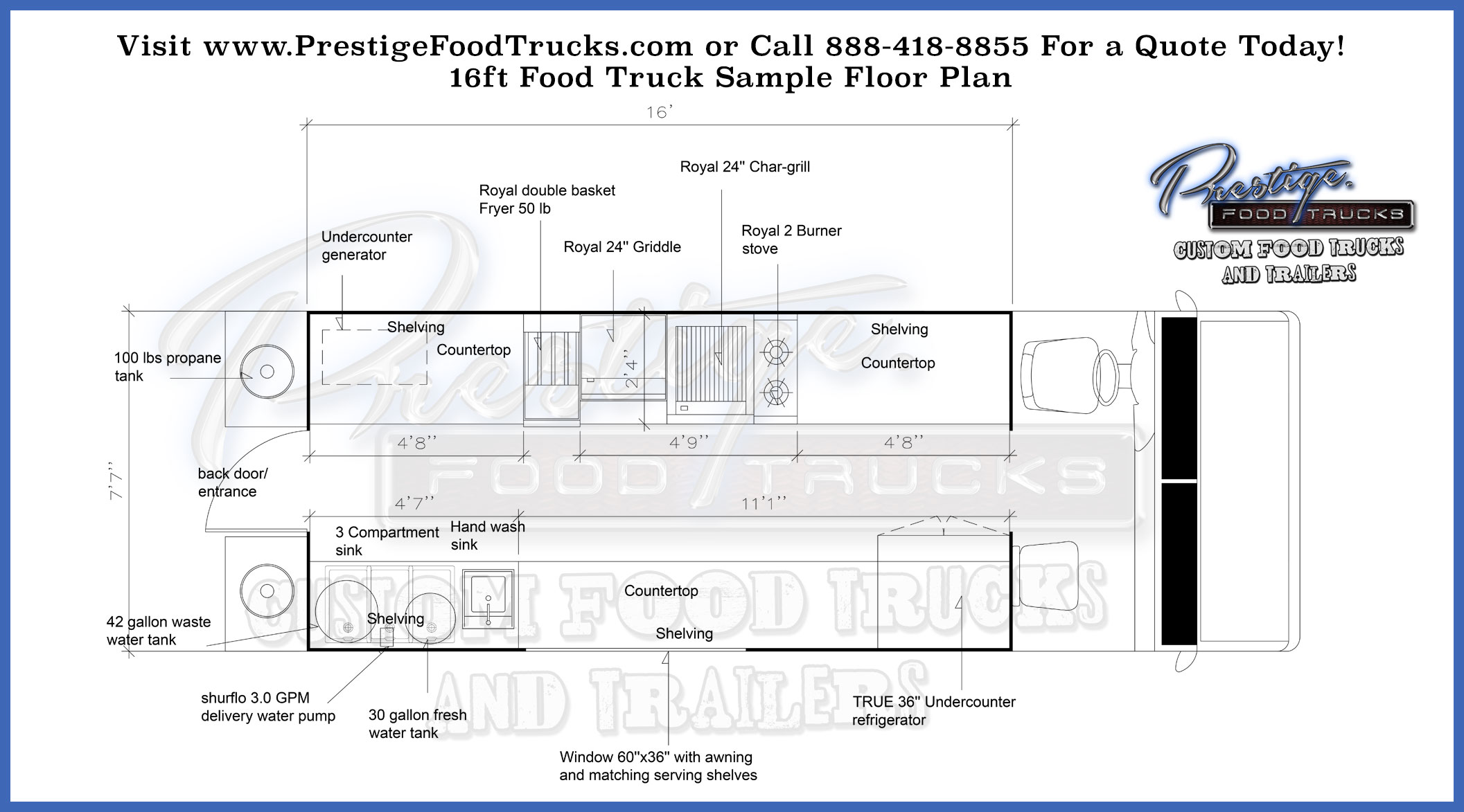 custom food truck floor plan sles custom food truck