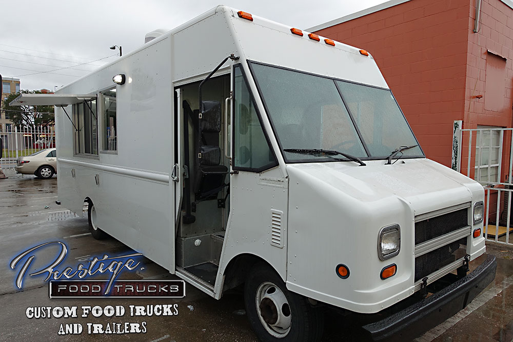 2005 Ford Gasoline 18ft Food Truck 86 000 Custom Food