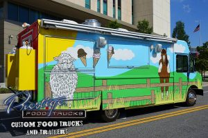 same food truck as top of page but with compartments closed