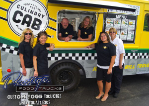 custom food truck builder manufacturer vending mobile concessions trailer prestige trucks - culinary cab