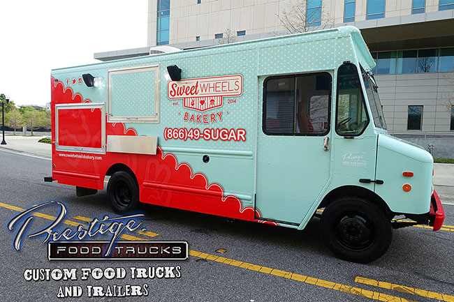Photo of sweet wheels bakery food truck